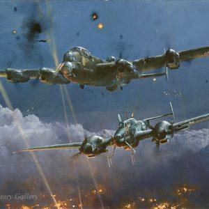 Lancaster Under Attack