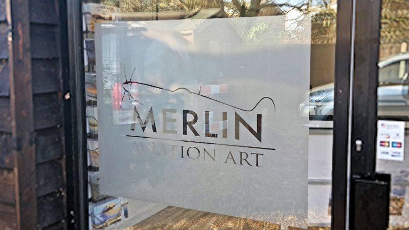 merlin aviation art gallery open
