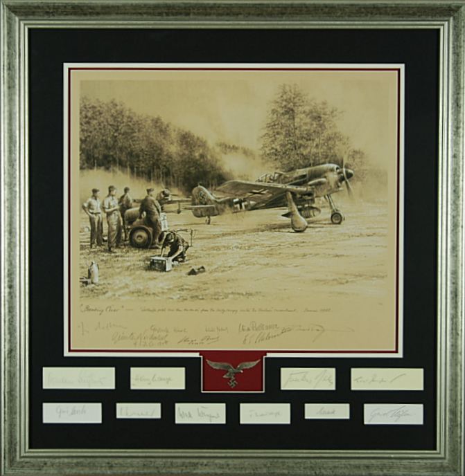 Breaking Cover - Luftwaffe Tribute Proof by Robert Taylor