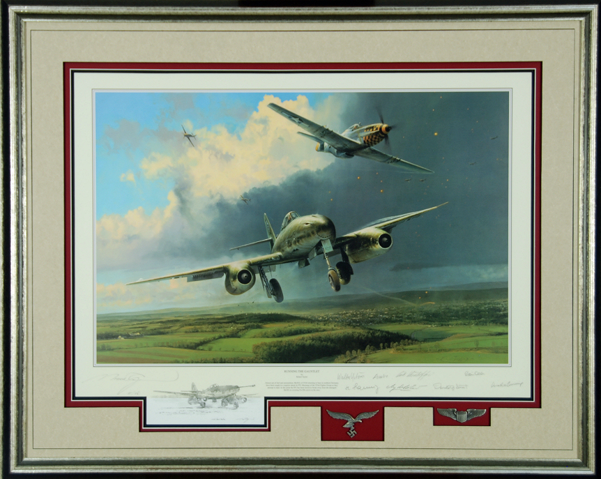 Running the Gaunlet - Remarque by Robert Taylor