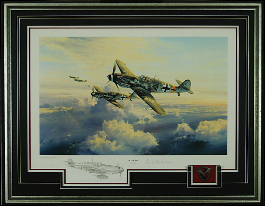 Ace Of Aces - Double Remarque by Robert Taylor