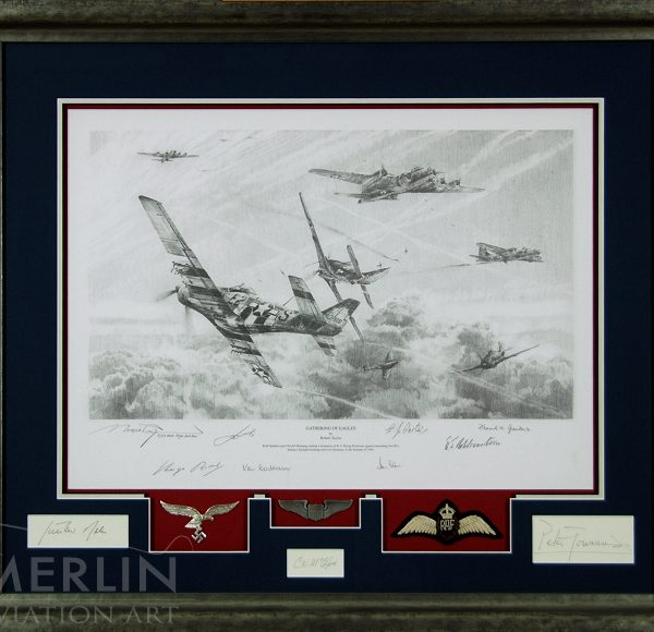 GATHERING OF EAGLES - ACES HIGH EDITION (Framed Secondary Market ...