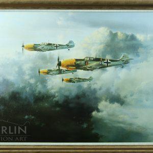 JG-52 giclee framed