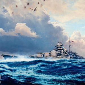 Sighting The Bismarck by Robert Taylor