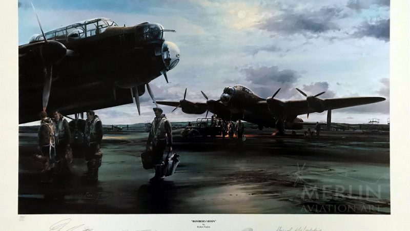 Bombers Moon by Robert Taylor