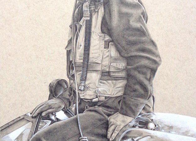 Harri Pilot Drawing WIP 02
