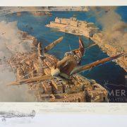 Malta George Cross Double Remarque