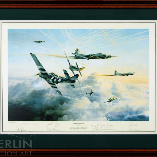 Gathering of Eagles Framed