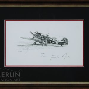 JG-52 Graphite Edition Framed