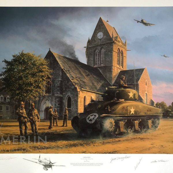 Liberation – Sainte Mere Eglise Remarque