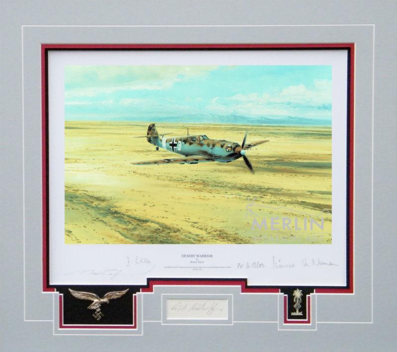 Desert Warrior matted collectors edition