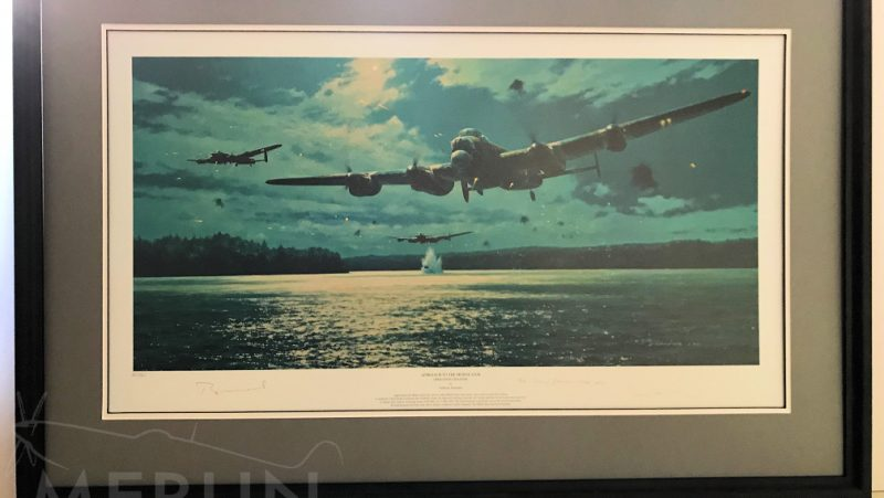 Framing Job by Merlin Aviation Art