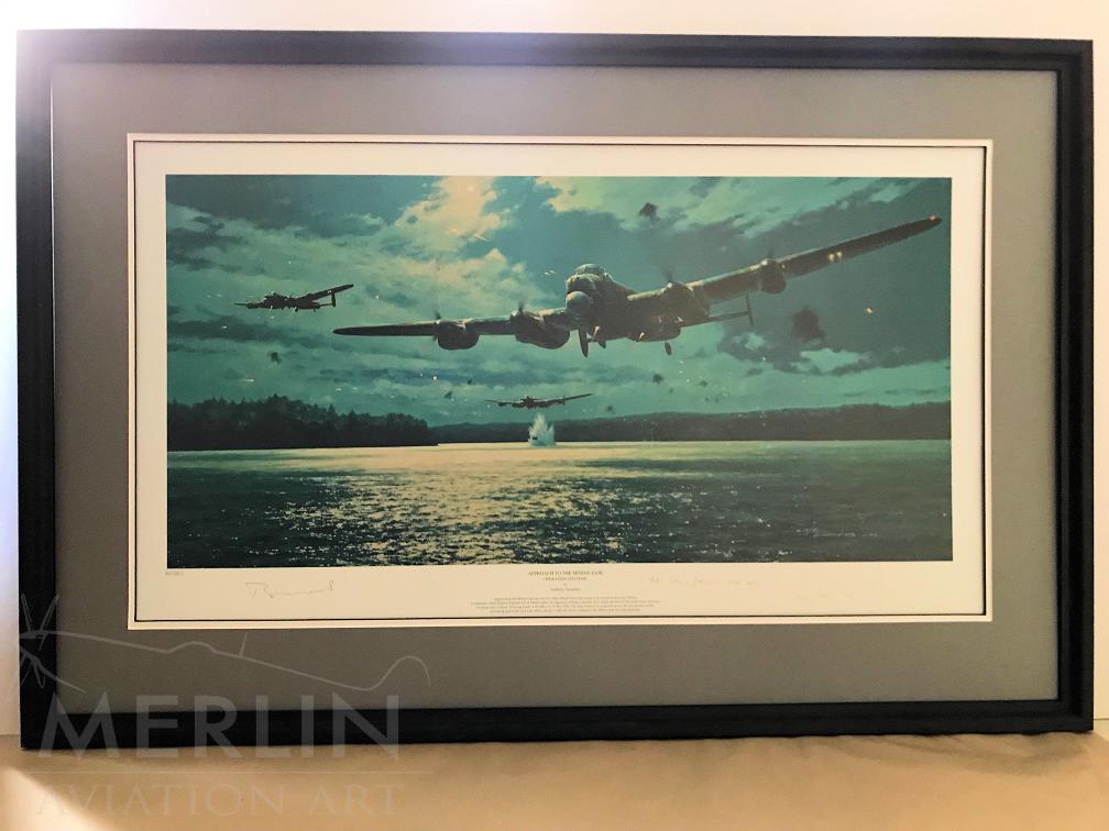 Framing Job by Merlin Aviation Art